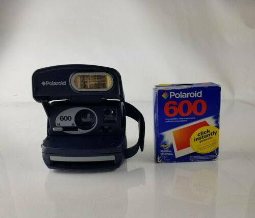 Vintage Polaroid 600 One Step Instant Camera and film