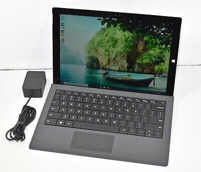 Microsoft Surface Pro 3 1631 i3-4020Y 1.5GHz 4GB RAM 64GB SSD Keyboard Win10 Pro