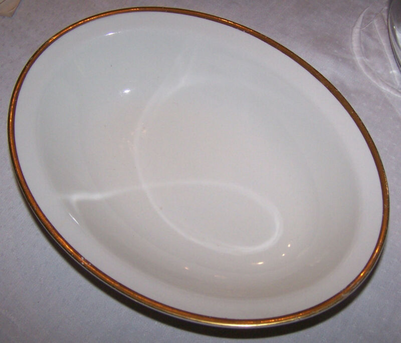 ANTIQUE W H GRINDLEY & CO SERVING DISH BOWL THE MARENGO