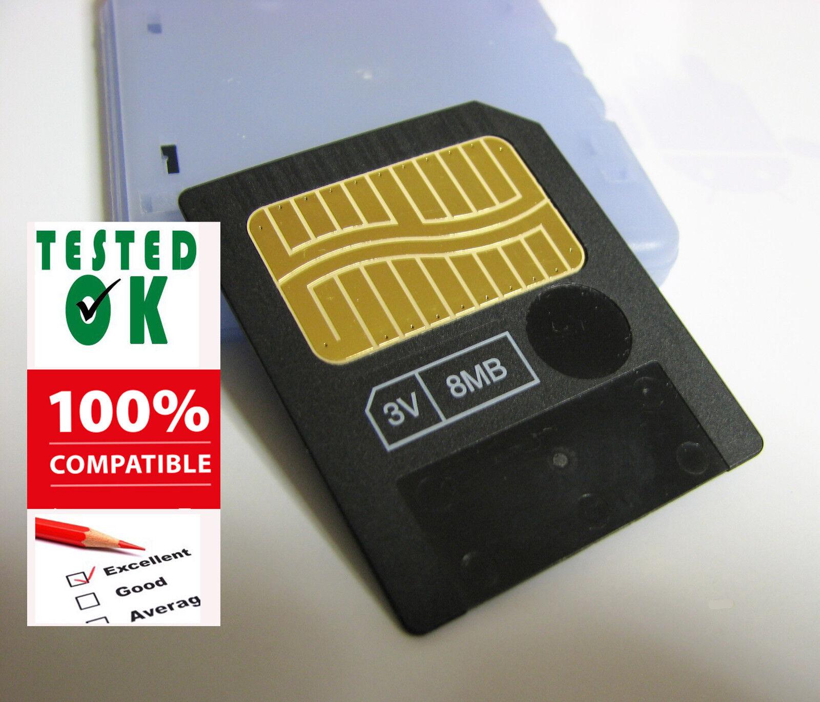 8 MB SMARTMEDIA CARD-Memoria Musicale Tastiere Campionatori MP3 Foto KORG Yamaha