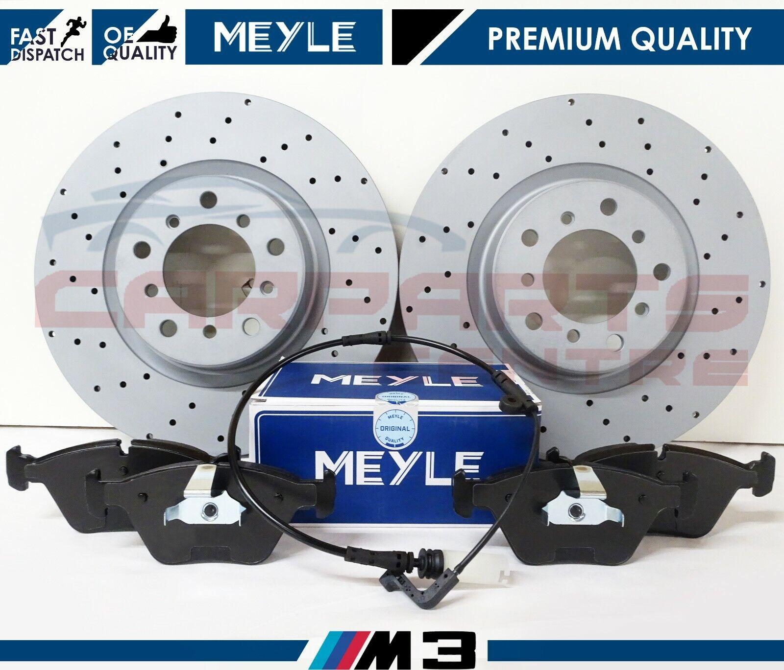 Sensor BMW E46 M3 Front Brembo Brake Pads Meyle Brake Rotors