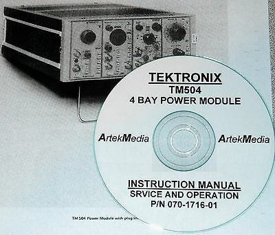 Tek Tm504 Power Module Instruction Manual Opsservice