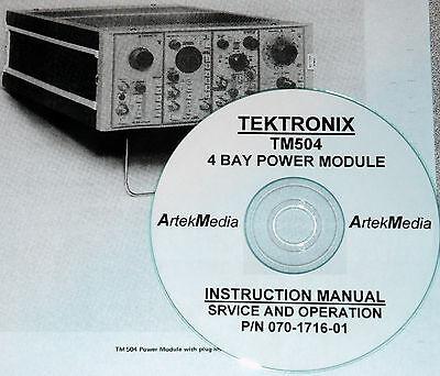 Tek Tm504 Power Module Instruction Manual Opsservice