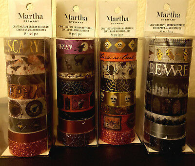 Martha Stewart Happy Halloween Washi Tapes Crafting - Washi Tape Cheap