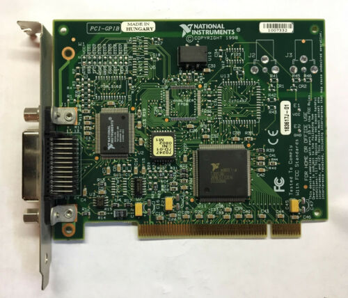 NATIONAL INSTRUMENTS NI PCI-GPIB INTERFACE ADAPTER CARD 183617J-01 183619B-01