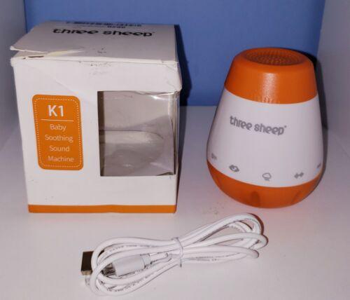Portable Baby Sleep Soother Sound Machine - 6 Sleep Soothing