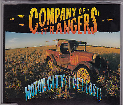Company Of Strangers - Motor City (I Get Lost) - CD (658257 1  Columbia  1992) - Party City Columbia