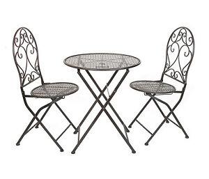 gartenm bel eisen ebay. Black Bedroom Furniture Sets. Home Design Ideas