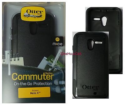 OtterBox Commuter Series Slim Case for Motorola Moto X 1st Gen. Black, 77-32122