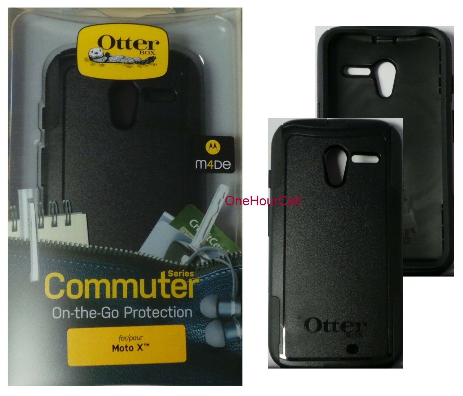 Купить OtterBox Commuter Series Slim Case for Motorola Moto X 1st Gen. Black, 77-32122