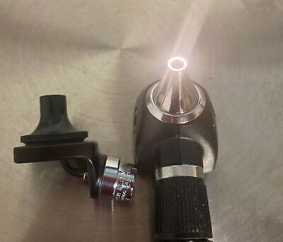 Welch Allyn Fiber Optic Nasal Illuminator 26500 With Otoscope 20000 Head