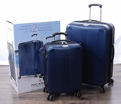 Ricardo Beverly Hills 2-piece Spinner Suitcase Set Upright 21