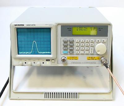 GW Instek GSP-810 150KHz-1GHz Spectrum Analyzer with Tracking Generator QTY