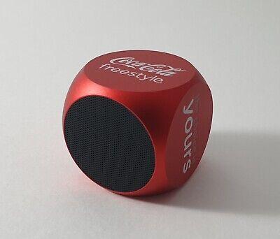 Bluetooth Mini Speaker (METAL BODY) Coca Cola Ltd Edition  * DEEP BASS * Sound
