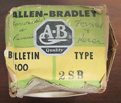 Allen Bradley 800 2sb Forward Reverse Push Button Control Station Heavy Duty
