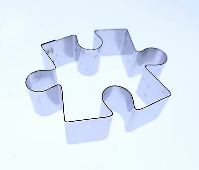 Jigsaw Piece - Stainless Steel Cutter - Valley Cutters - Sugarcraft cake clay