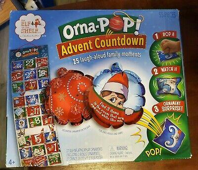 Orna-Pop The Elf on the Shelf Advent Calendar- BRAND NEW