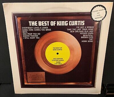 sealed The Best of KING CURTIS 1973 Scepter CTN