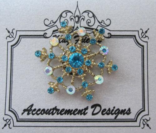 Needle Minder Magnet Snowflake Blue Accoutrement Designs Cross Stitch