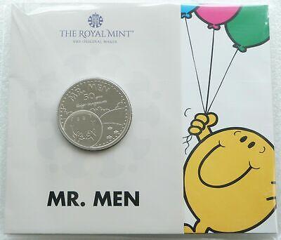 2021 Royal Mint Mr Men Mr Happy £5 Five Pound Coin Pack Sealed