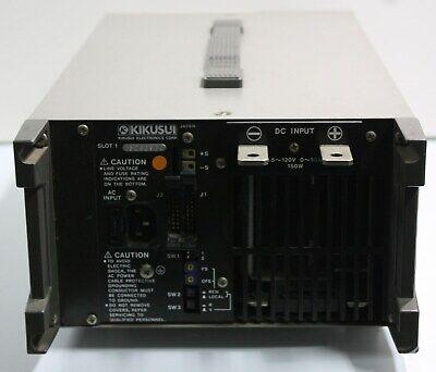 Kikusui Plz153w 150 Watt Dc Electronic Load