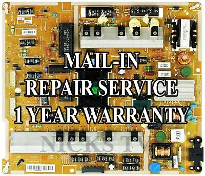 Mail-in Repair Service Samsung BN44-00633B Power Supply UA55F7500, used for sale  Shipping to South Africa