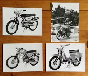 SET 1967 VINTAGE JAWA MOTORCYCLE POSTCARDS