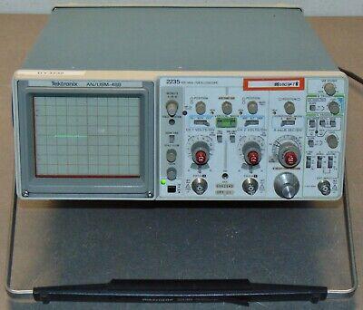 Tektronix 2235 2 Channel Anusm-488 100 Mhz Oscilloscope Option 1
