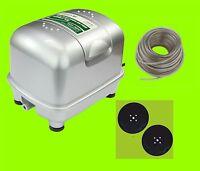 Hailea Aco 9820 Compressor, Plus 2 Spare Membrane And 10 M. Air Hose Fan - hailea - ebay.co.uk