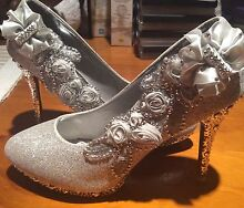 New weeding shoes high heels size 8 Woy Woy Gosford Area Preview