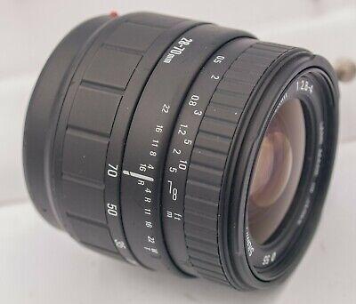 Sigma UC 28-70mm F2.8-4.0 Zoom Lens Minolta Maxxum Sony Alpha SLT Mount Cameras
