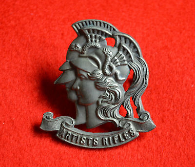 British Army. 28th County of London Battalion Genuine OR's Cap Badge