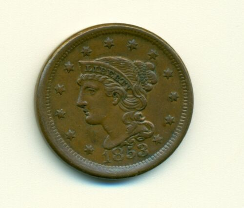 1853 U.S. Large One Cent #18