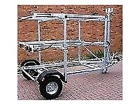 dinghy launching trolleys for sale inc combi and multi stackers