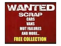 SELL YOUR SCRAP CAR OR VAN TODAY 07437888387