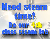 4th Class Steam Lab Available