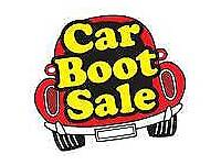 Large bundle of items suitable for car boot sale