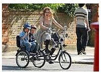 TRICYCLE - TRIKIDOO - FAMILY TRIKE - CAN CARRY TWO KIDS IN THE BACK