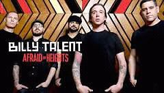 *Excellents billets zone VIP 6e rangée Billy Talent 2 mars*