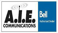 Now Hiring At A.I.E. Communications- Your Bell Authorized Dealer
