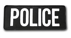 Large Police Patch