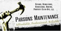 Attention Landlords! Parsons Maintenance is here for you!