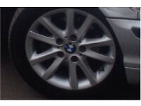 Bmw e46 alloys with gd tyres £100 no offers