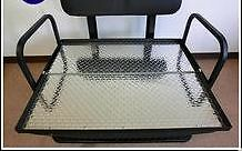 "Siege 4 Passagers Golf Cart ""Flip-Flop""  Checker Plate en Alum"