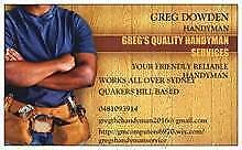 Greg's Bricklaying Repairs Bidwill Blacktown Area Preview