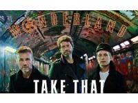 2 x Tickets for Take That Wonderland Tour 2017 - Genting Arena, Birmingham - 1st June