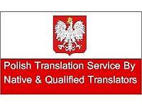 Polish & English Professional Certified Translating Service