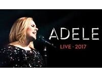 2 x Adele Standing tickets @ Wembley Saturday 1st July
