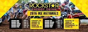 2 VIP Passes to Rockstar Energy Drink Motocross Nationals