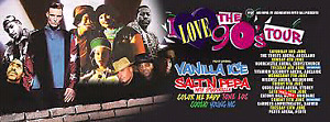 BEST OFFER I Love the 90s ticket! Salt n Pepa, Vanilla Ice